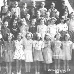 Thumbnail image for Third Grade Class of Dungannon School, 1945