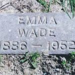 Thumbnail image for Emma Margaret VINEYARD WADE
