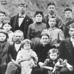 Thumbnail image for Hiram BLEDSOE, Amanda Jane BARNETT and Family