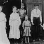 Thumbnail image for Rebecca Jane POWERS RAMEY TAYLOR,  her children and George W. TAYLOR
