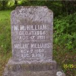 Thumbnail image for W. M. & Mollie WILLIAMS