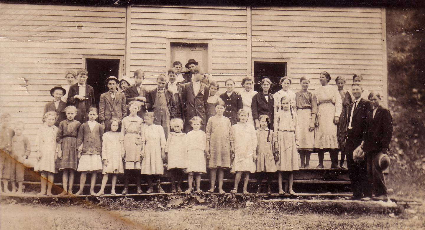 Unknown Scott County Virginia Schoolhouse