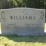 Thumbnail image for Headstone of Thomas Williams, Sally Buckner and Children
