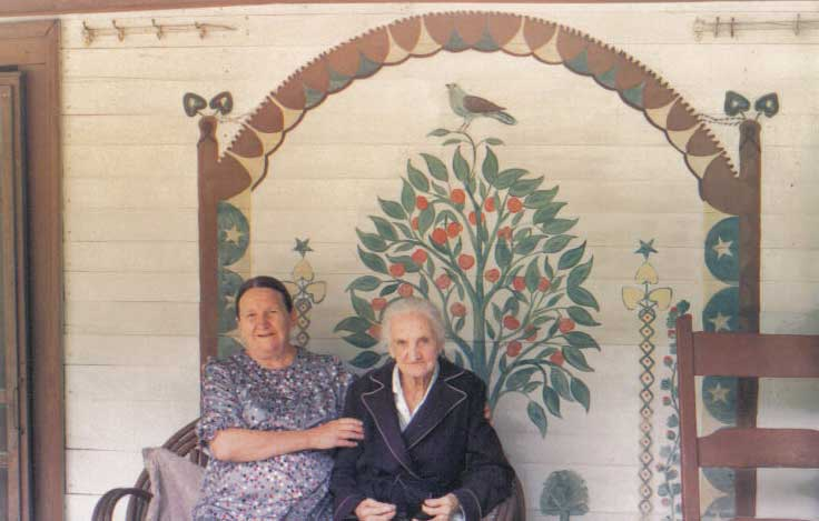 Oma and Ella Taylor, click to view larger