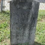 Thumbnail image for Benjamin C. Hill Headstone